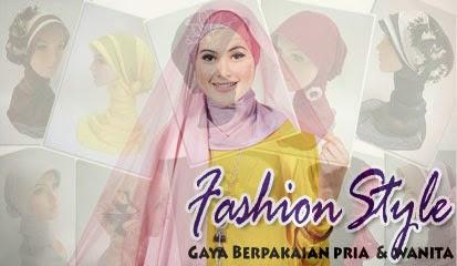 Model Jilbab Polos Wanita