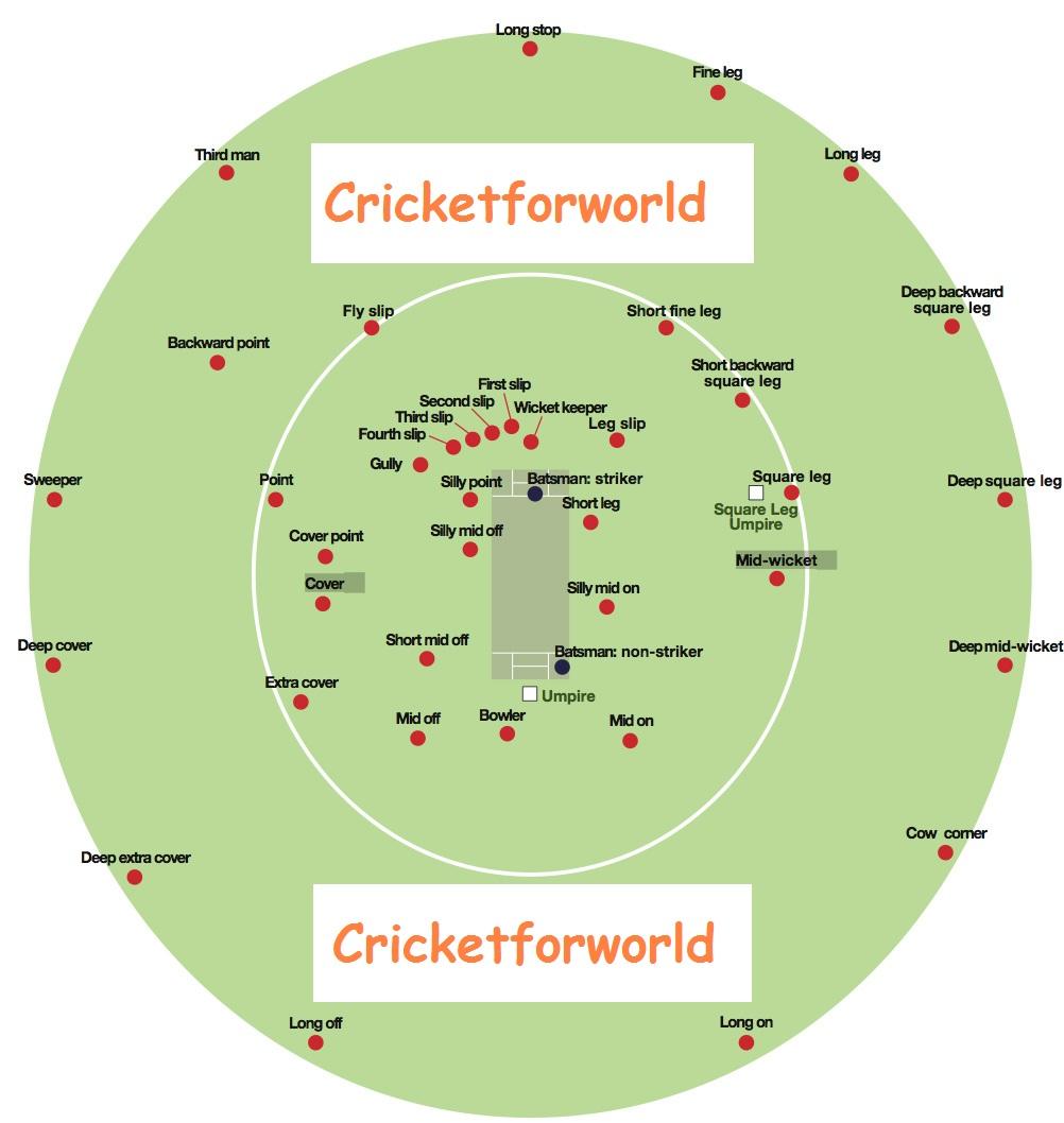 field position in cricket ground