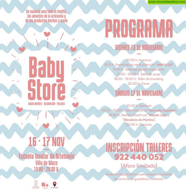 El Cabildo y Sodepal promocionan la actividad artesanal de la isla en torno a productos infantiles y para bebés