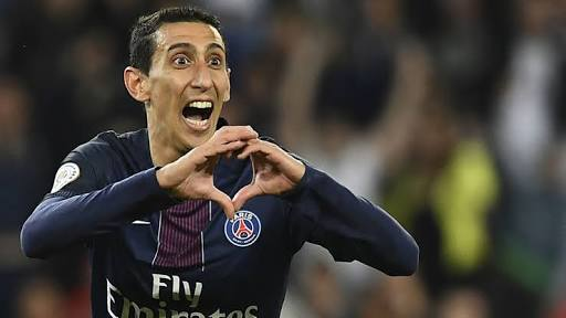 Di Maria looks to fill Neymar's shoes
