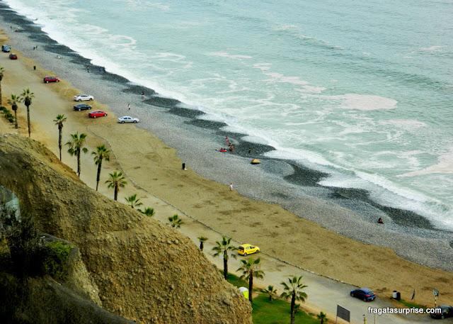 Praia de Miraflores, Lima