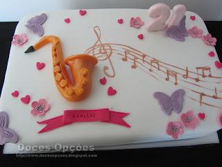 sax cake