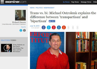 Michael Ostrolenk Transpartisan Center bipartisan politics
