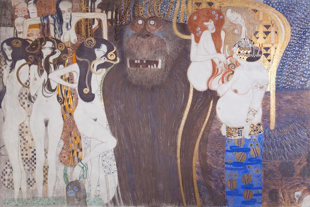 Friso Beethoven, Gustav Klimt. Secesión de Viena