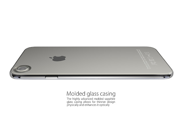 Apple iPhone 7 Concept With Ring Flash