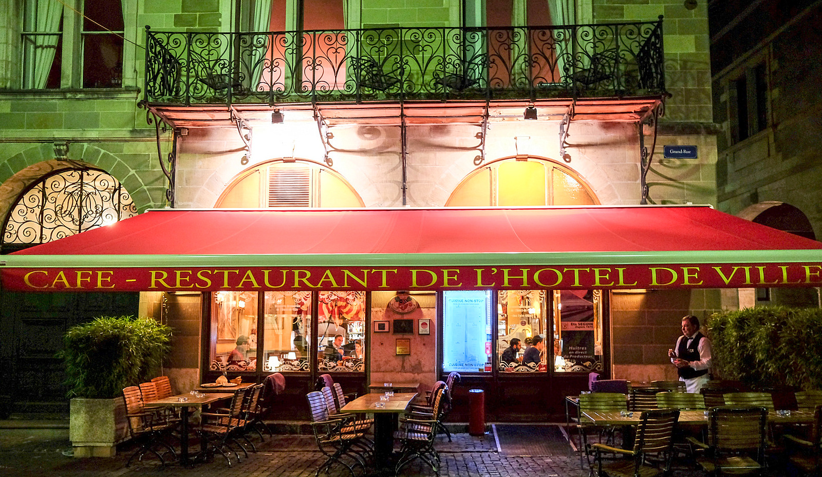 Restaurant de l'Hotel de Ville, Geneva