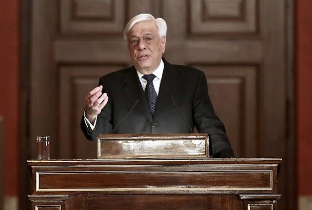 Προκόπης Παυλόπουλος από τα Ιεροσόλυμα: «Να τερματιστεί ο πόλεμος στη Συρία για να λυθεί το Προσφυγικό»