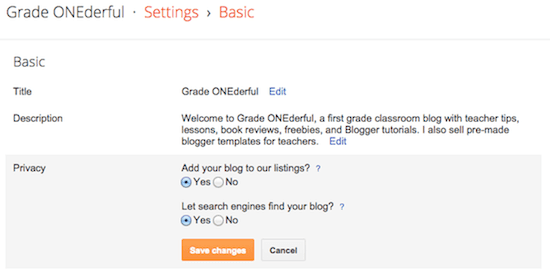 Blogger Tutorial: Learning SEO Basics, Part 1
