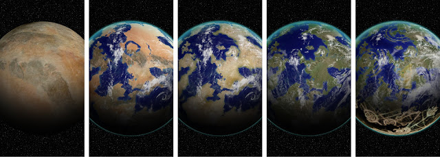 Earth as hybrid planet: New classification places Anthropocene era in astrobiological context