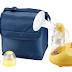 Castiga un set Primii Pasi cu pompa de san electrica, geanta de voiaj si biberon
