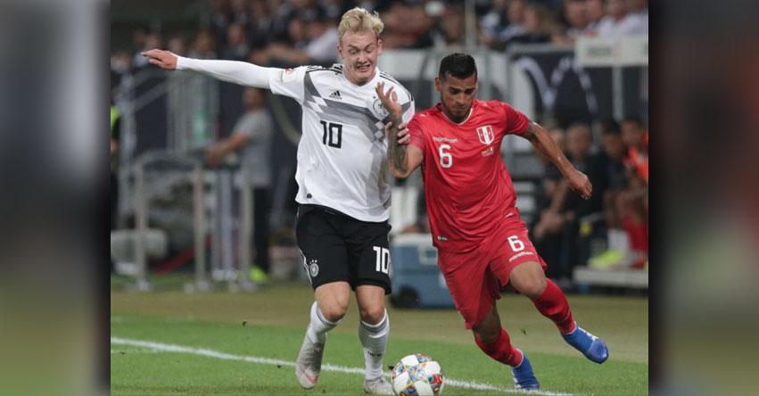 RESULTADOS PERÚ Vs. ALEMANIA: Germanos vencieron 2 a 1 a la blanquirroja en partido amistoso