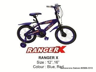 Sepeda Anak Family Ranger-X 16 Inci