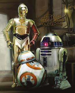 [Recenzja] Plakat najsłynniejszych droidów w galaktyce