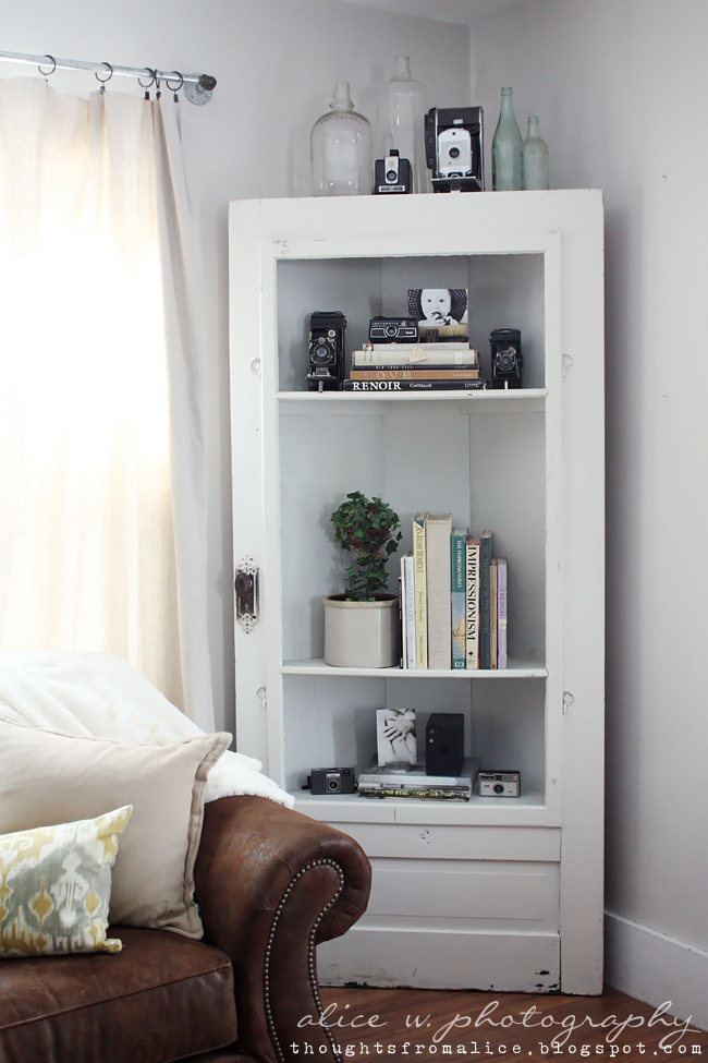 Corner Shelves White Door Shelf DIY