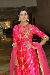 Shamili in Pink Anarkali Dress 16.JPG
