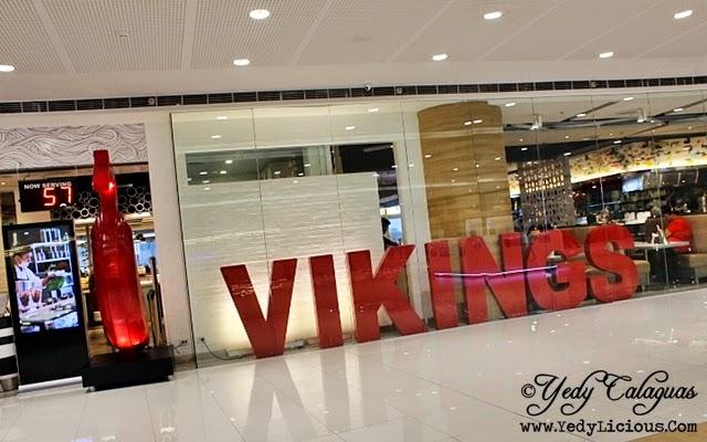 Facade of Vikings Buffet SM Megamall