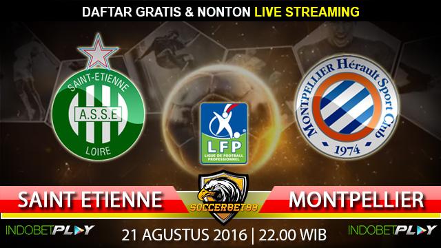 Prediksi Saint Etienne vs Montpellier 21 Agustus 2016 (Liga Prancis)