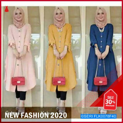 FLK0078F40 Duffy Long Tunik BMGShop