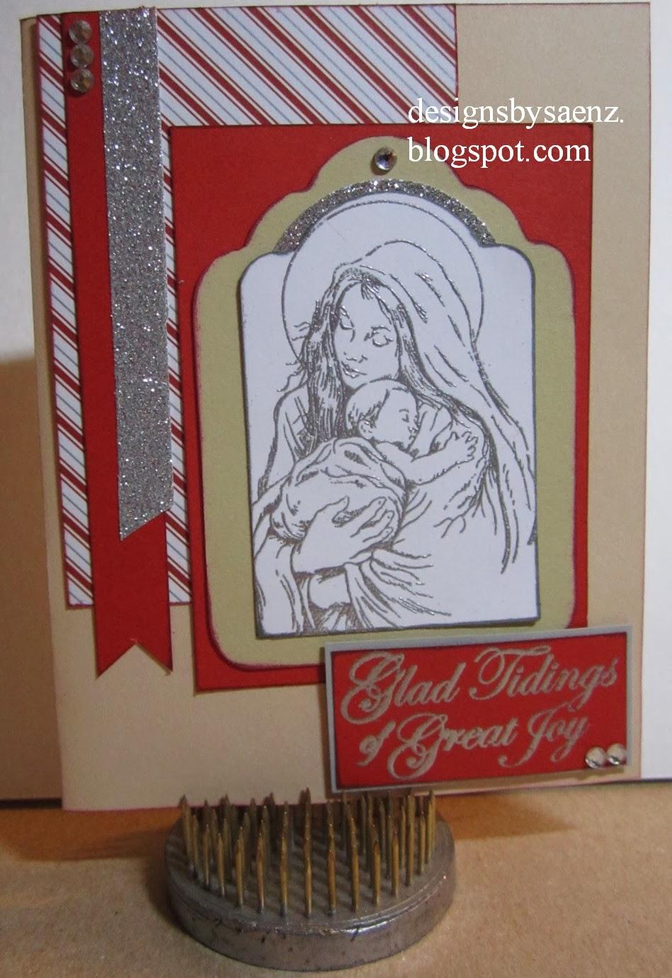 designssaenz christmas card kits