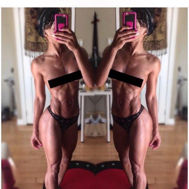 Fitness Model Lola Montez 7