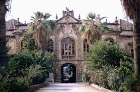 The Villa Palagonia in Bagheria reflected the town's wealth in the early 18th century