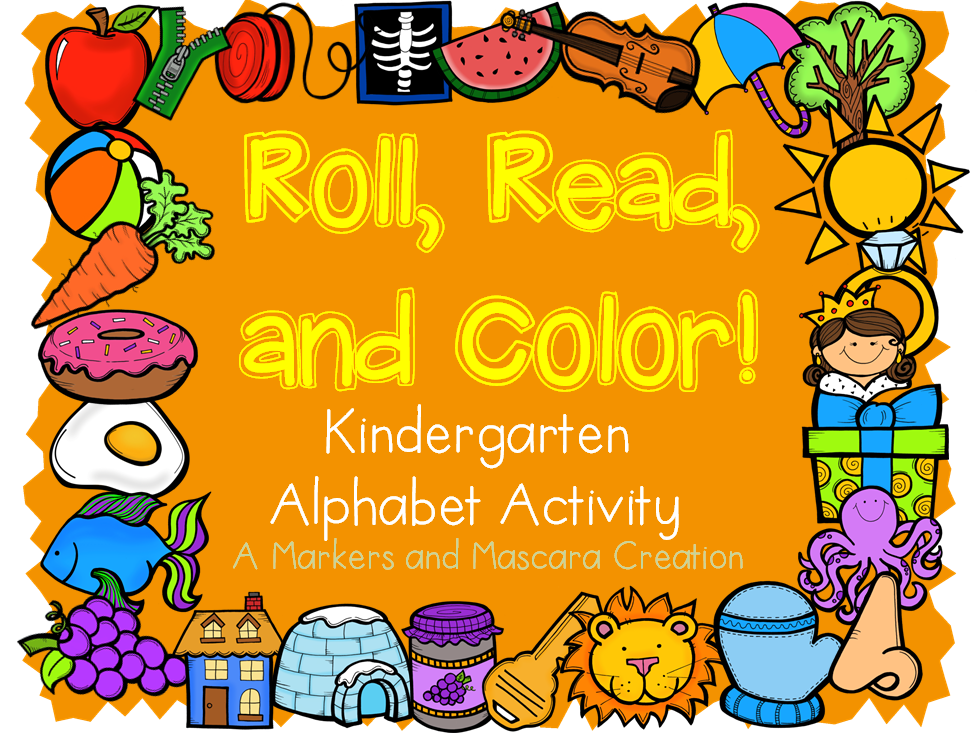 http://www.teacherspayteachers.com/Product/FREEBIE-Alphabet-Roll-Read-and-Color-1300095