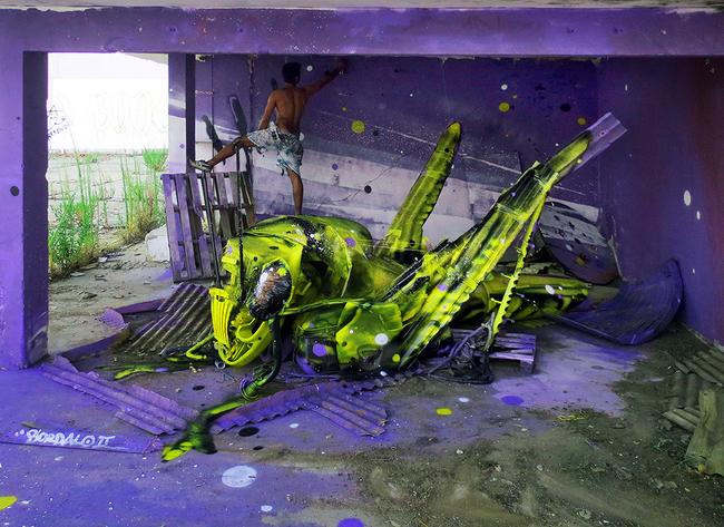 bordalo2 Artes Sustentáveis: Decoração Urbana