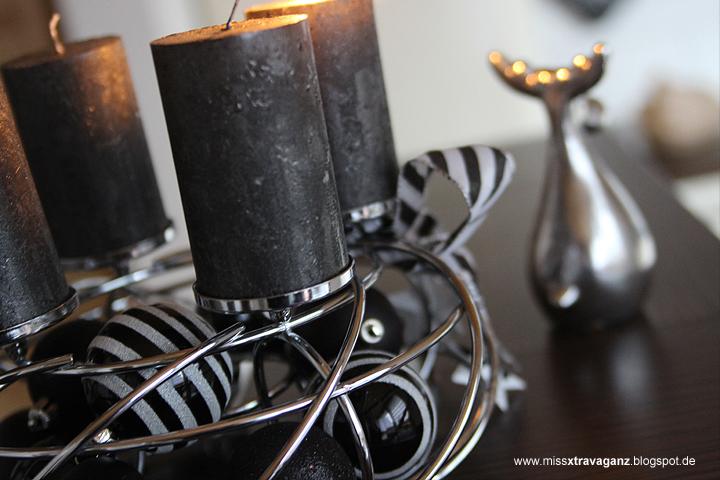 interior adventskranz weihnachtsdeko miss von xtravaganz beauty lifestyle travel. Black Bedroom Furniture Sets. Home Design Ideas