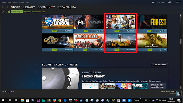 PUBG lagi ada diskon di Steam Summer Sale.