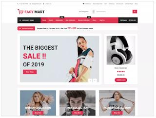 Blogeasy Theme of top 10 free wordpress themes