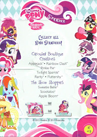 My Little Pony Sweetie Belle Series 1 Trading Card