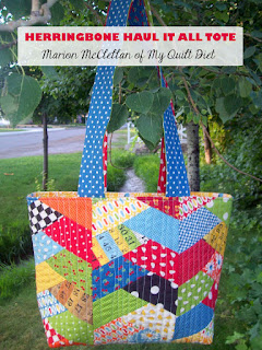 Quilt Inspiration: Free pattern day: Tote bags ! : quilt tote bag - Adamdwight.com