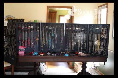 Belle S Bazaar Jewelry Display Peg Board