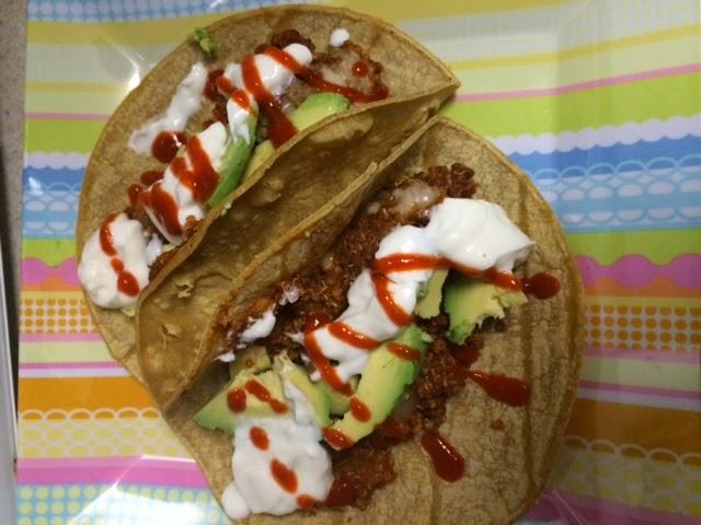 21 day fix quinoa tacos