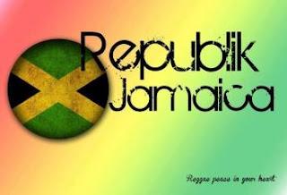 Republik Jamaica 1 Hati 2 Jari 3 Warna