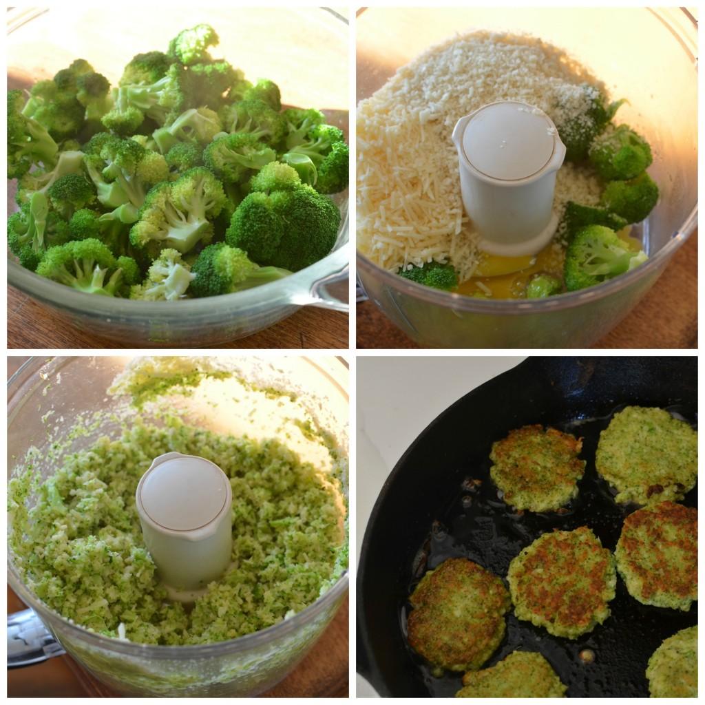 Friganele de cascaval cu broccoli
