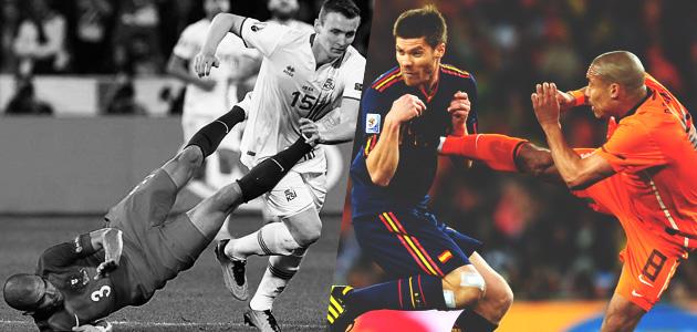 Os jogadores mais brutos do futebol mundial