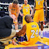 Kobe Bryant's season is over; adding woose to the struggling LA Lakers this season