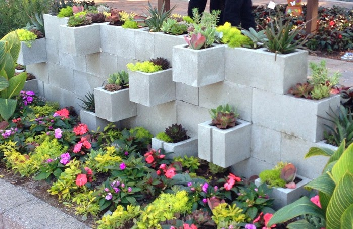 d 25 Stunning Planter Concrete Blocks Alternatives to Transform Your Backyard And That Are All Your Front Porch Needs Interior