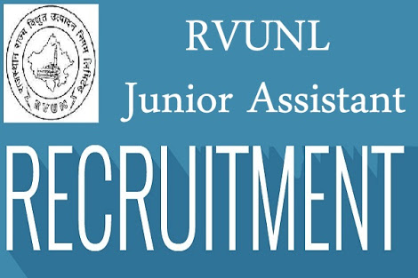 RVUNL Recruitment 2018 for 3220 Posts of Junior Assistant/ Commercial Assistant II JVVNL Stenographer Job Vacancy 2018