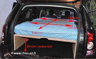 camper dormir web dacia duster 4x4. Black Bedroom Furniture Sets. Home Design Ideas