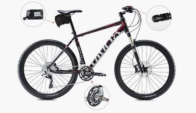ElectricMountainBikes.com: Electric Bike Conversion kits