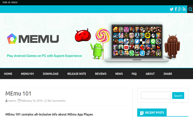 تحميل برنامج MEmu App Player 5.2.1.0 لتشغيل تطبيقات الأندرويد على جهاز الكمبيوتر