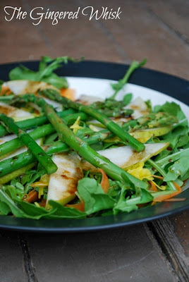 Spring Arugula Salad (The Gingered Whisk)