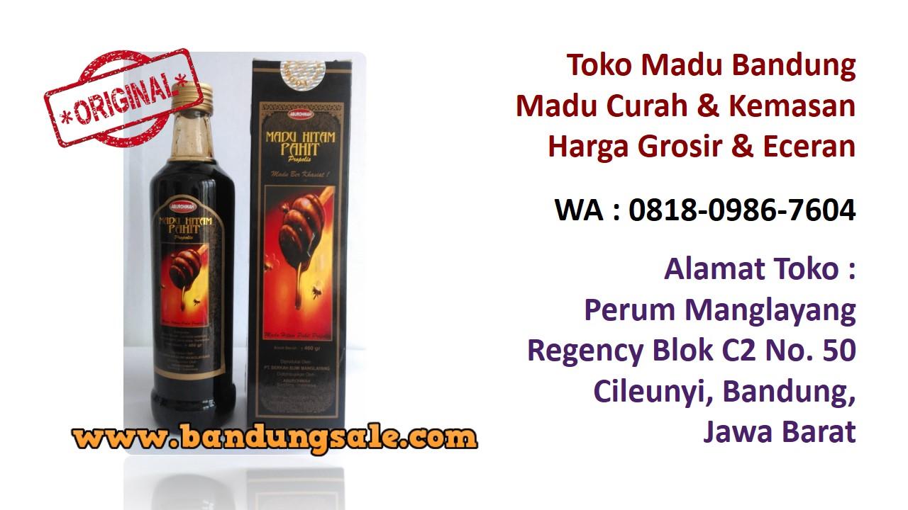Supplier madu murni online bandung murah. Hubungi WA : 0818-0986-7604. Herbal-madu-odeng-hitam-bandung-murah
