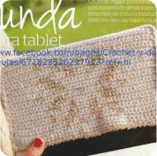Funda para tablet a Crochet