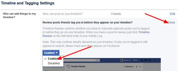how to prevent unwanted tagged photos on facebook