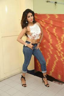 Deekshita Parvathi in a short crop top and Denim Jeans Spicy Pics Beautiful Actress Deekshita Parvathi January 2017 CelebxNext (75).JPG