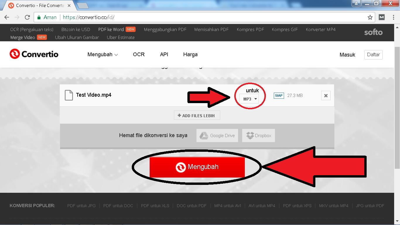 Cara Mengubah Video MP4 Menjadi MP3 Tanpa Software - Nak Blogz - photo#33