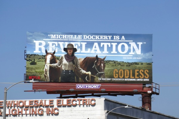 Michelle Dockery Revelation Godless 2018 Emmy FYC billboard